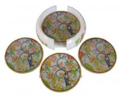Coster set bird floral set