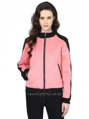 Two Color Bomber Jacket