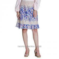 Frilly Bottom Printed Skirt