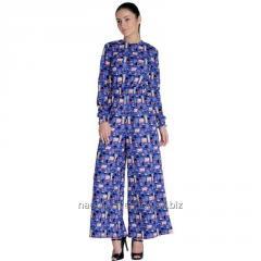 London Printed Blue Jumpsuit