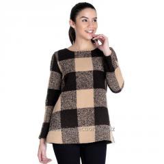 Plaid Tunic Pullover