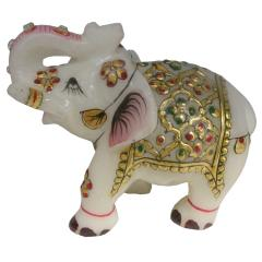 Marbal gold elephat