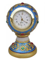 Marble piller clock small