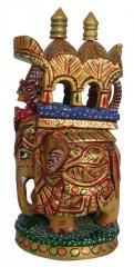 Wooden ambabari colourfull