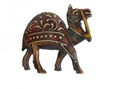 Wooden camel Antique