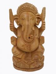 Wooden Ganesh ji