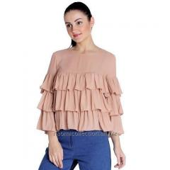 Triple Layer Frilly Top
