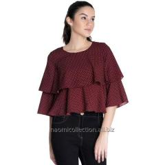 Two Layer Flare Top