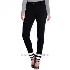 Color Block Patch Trousers