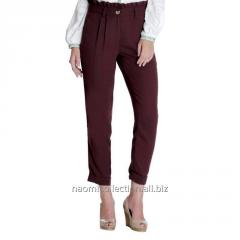 Straight Fit Paper Bag Trouser