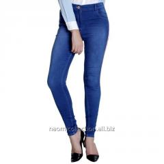 Printed Patch Jeans