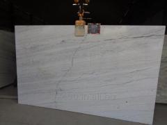 White marble Slabs for flooring Kitchen tops