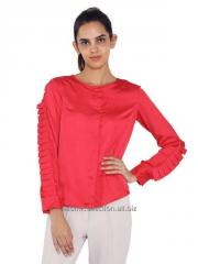 Pleated Sleeves Formal Shirt