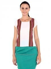 Printed Patch Sleeveless top