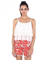 Two Layer Frilly Top