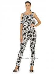 Printed frilly Jumpsuit