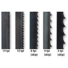 Bi-metal band saw blades