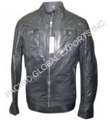 Stylish Leather Men Jacket