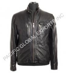 Smooth Men Leather Jacket
