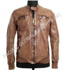 Designer Trendy Leather Jacket