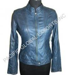 Sleek Fit Womens Leather Jacket