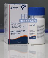 Daclawin Daclatasvir Dihydrochloride Tablets 60 mg