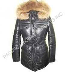 Smooth Lamb Leather Fur Garments
