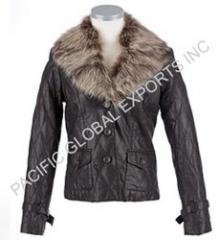 Leather Fur Garments
