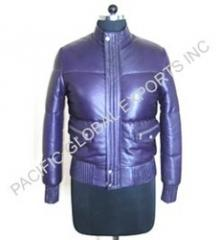 Soft Analine Leather Quilted Jackets