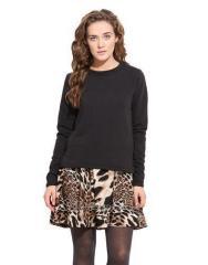 Double Layer Sweatshirt Dress
