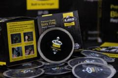 Bias ply tire / tyre repair patch