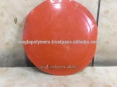 Bias ply tire / tyre repair patch with Orange