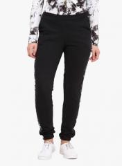Black Pc Fleece Trouser