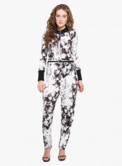 Multi Single Jersey Cotton Lycra Jumpsuit