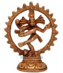 Purpledip Nataraja (Lord Shiva Mahadev In Dance Pose) Brass Statue