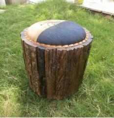 Railway Sleeper Wood Stool