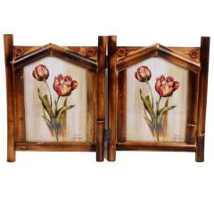 Couple photo frame stand for 5x7 photo (10114)