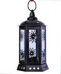 Lantern Shaped Candle Holder Tea Lights Lamps