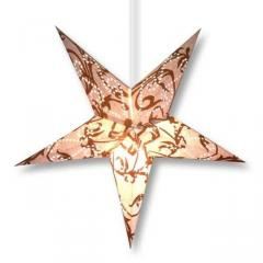 PURPLEDIP Christmas Star Decoration, (24*24*4 inches,Golden)chst03