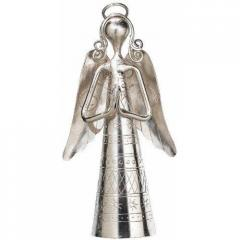 Nickel Plated Decorative Metal Bell angelbell