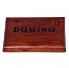 Purpledip Dominoes Game Set: Handmade from