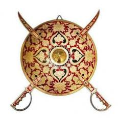 Dhal Talwar Shield Sword wall hanging