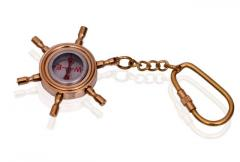 Rass Key Chain / Ring Shaped As Compass