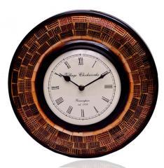 Wall Clock 'Brown Magic''