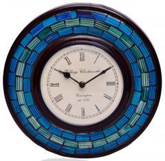 Wall Clock 'Blue Magic'