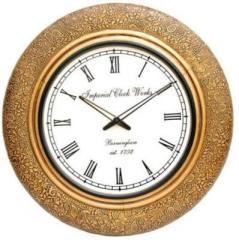 Analog Wall Clock (Gold) clock63