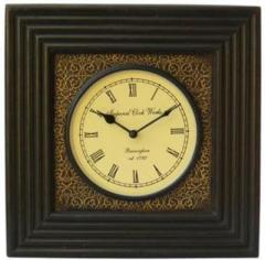 Antique analog wall clock(13x13 inches) clock48