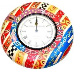 Abstract Analog Wall Clock(Multicolor)(12x12inch)