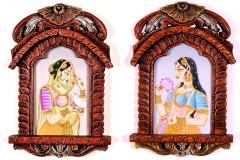 Set of Jharokha with Bani Thani Painting