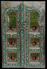 "Meenakari Wall hanging "" Peacocks or"